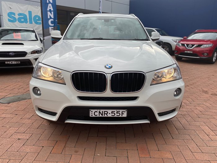 2013 BMW X3 xDrive20d F25 MY13 4X4 Constant White