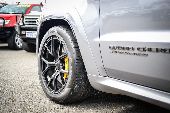 2018 Jeep Grand Cherokee Trackhawk WK MY18 4X4 On Demand Silver