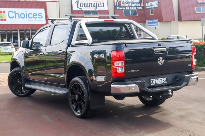 2015 Holden Colorado LTZ RG MY15 4X4 Dual Range Black