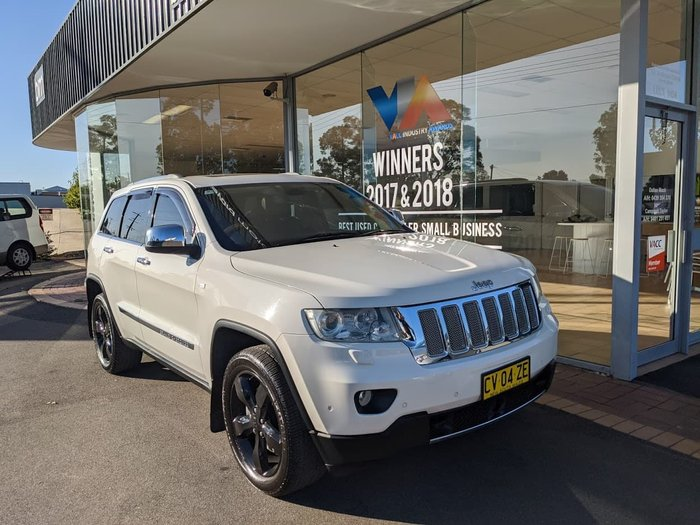 2011 Jeep Grand Cherokee Overland WK MY11 4X4 Constant White