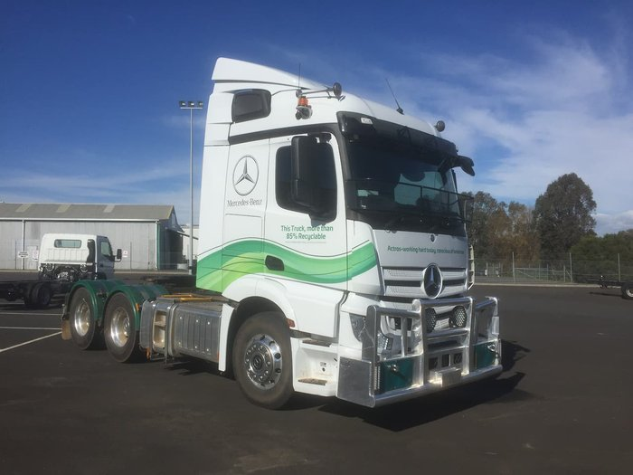 2019 MERCEDES-BENZ ACTROS 2653LS null null White