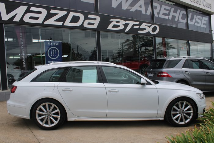 2015 Audi A6 allroad C7 MY16 Four Wheel Drive White
