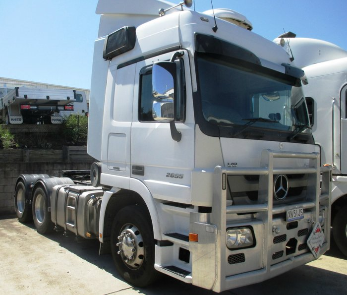 2014 Mercedes-Benz 2655 Actros White