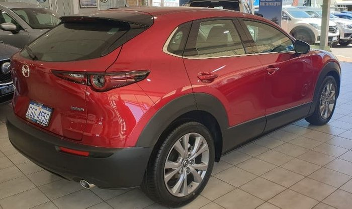 2020 Mazda CX-30 G25 Touring DM Series Red