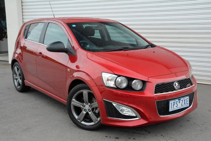 2014 Holden Barina RS TM MY14 Red