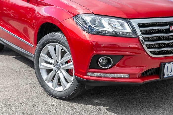 2017 Haval H2 LUX (No Series) Red