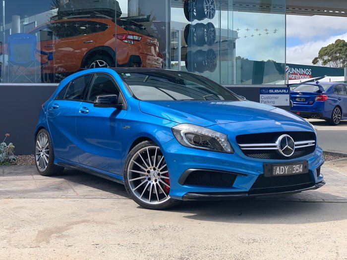 2015 Mercedes-Benz A-Class A45 AMG W176 Four Wheel Drive Blue