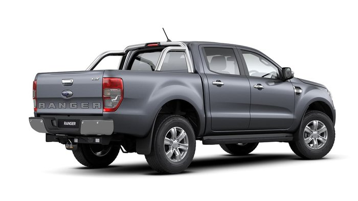 2020 Ford Ranger XLT PX MkIII MY20.25 4X4 Dual Range Meteor Grey