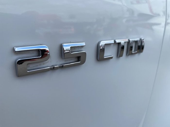 2012 Holden Colorado DX RG MY13 White