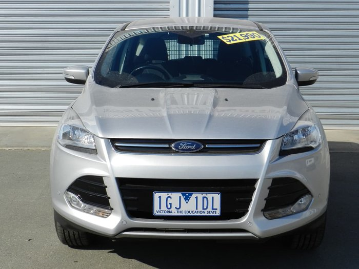 2015 Ford Kuga Ambiente TF MkII MY16 4X4 On Demand Silver