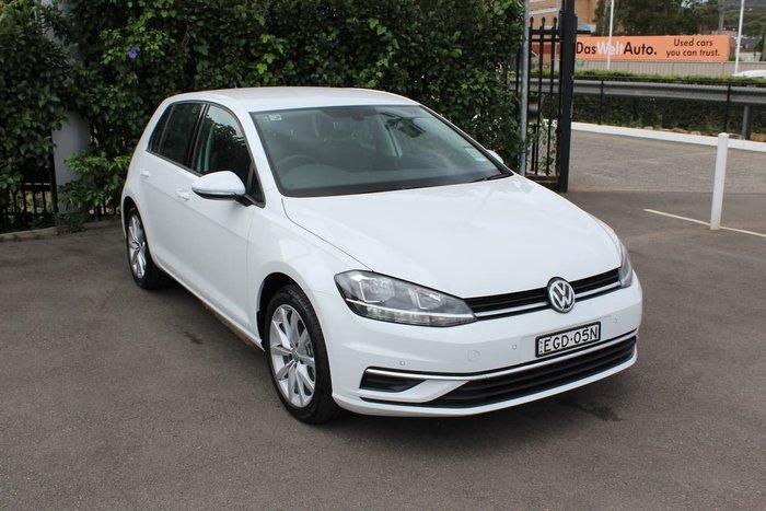 2019 Volkswagen Golf 110TSI Comfortline 7.5 MY19.5 White
