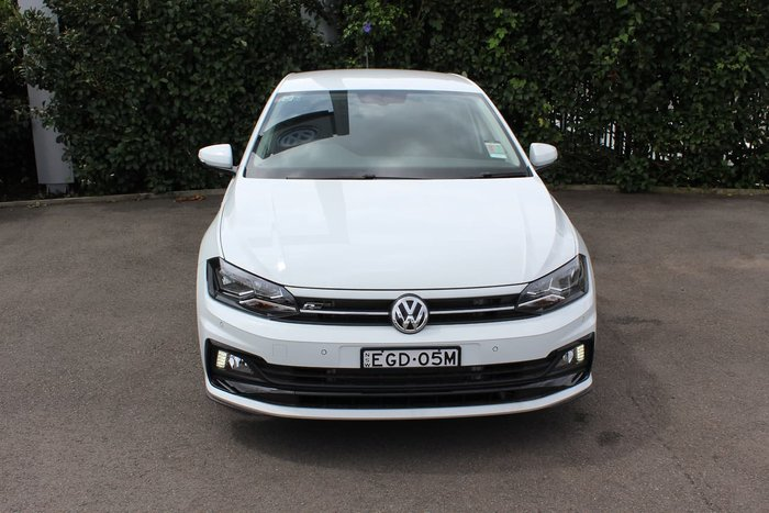 2019 Volkswagen Polo 85TSI Comfortline AW MY19 White