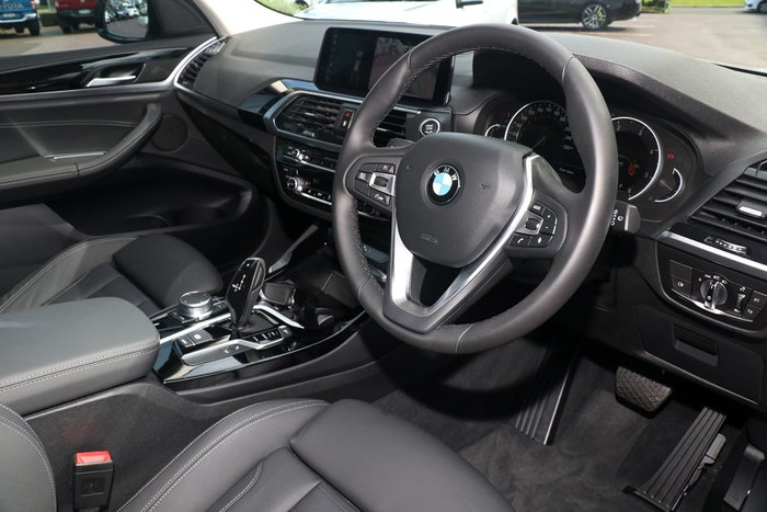 2019 BMW X3 xDrive20d G01 4X4 Constant Silver