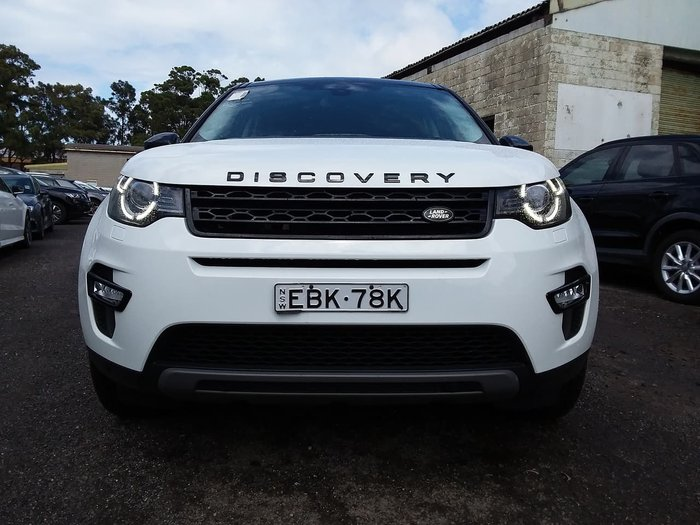 2018 Land Rover Discovery Sport SD4 HSE L550 MY18 4X4 On Demand White