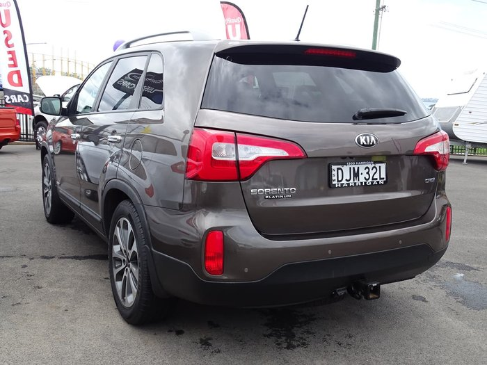 2013 Kia Sorento Platinum XM MY13 4X4 On Demand Brown