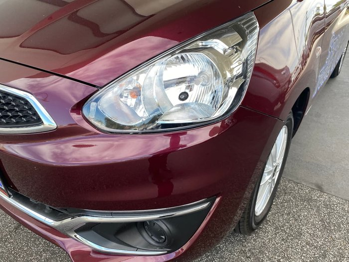 2019 Mitsubishi Mirage ES LA MY19 Red