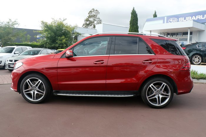 2016 Mercedes-Benz GLE-Class GLE400 W166 Four Wheel Drive Red