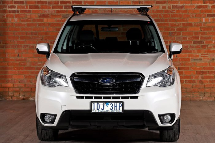 2014 Subaru Forester 2.5i Luxury S4 MY14 Four Wheel Drive White