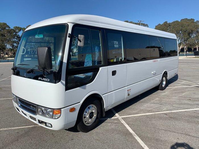 2021 FUSO ROSA DELUXE AUTO White