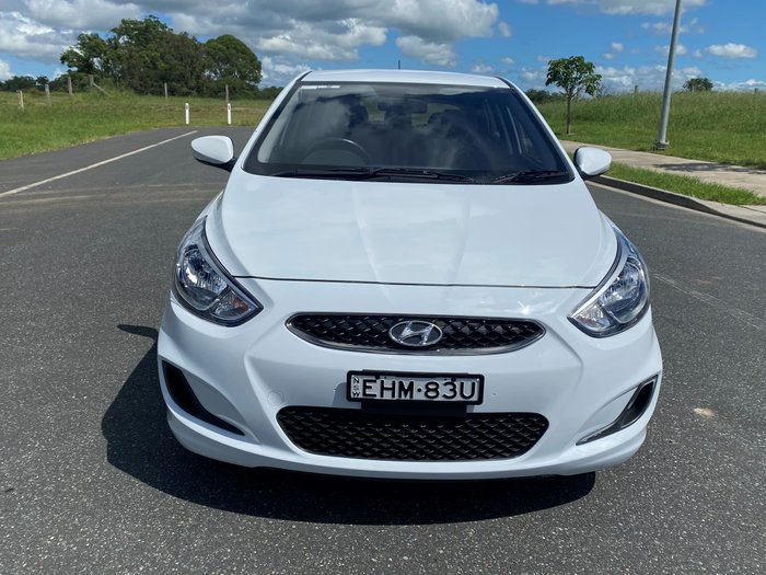 2018 Hyundai Accent Sport RB6 MY18 White