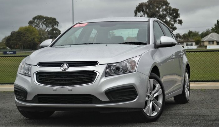 2016 Holden Cruze Equipe JH Series II MY16 NITRATE SILVER