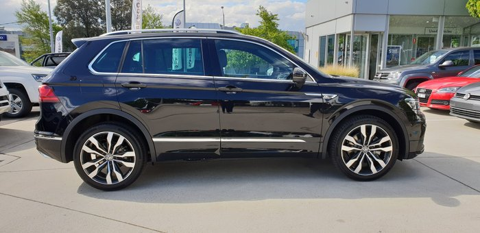2019 Volkswagen Tiguan 162TSI Highline 5N MY20 Four Wheel Drive Black