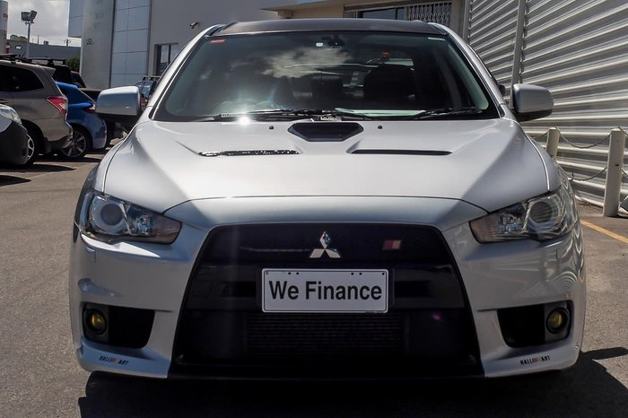 2008 Mitsubishi Lancer Evolution MR CJ MY09 Four Wheel Drive White