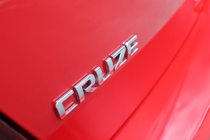 2013 Holden Cruze SRi-V JH Series II MY14 Red