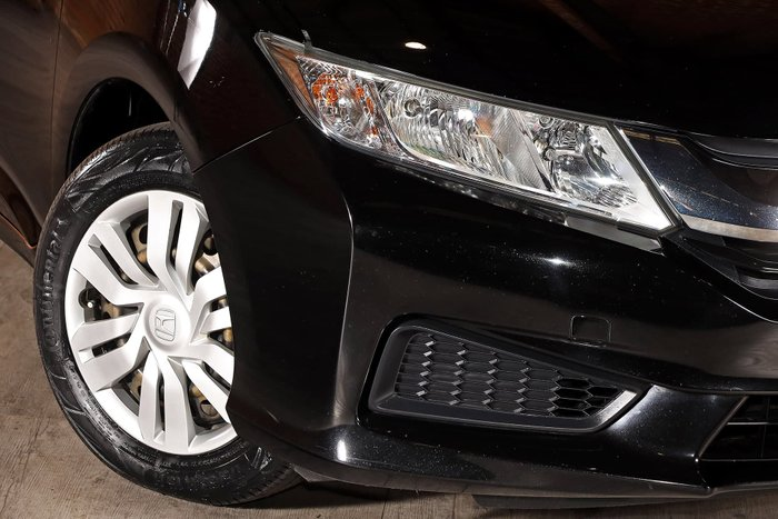 2015 Honda City VTi GM MY16 Black
