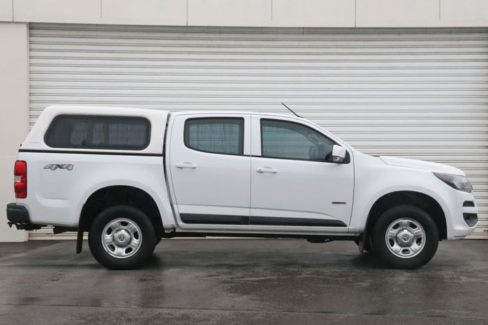 2016 Holden Colorado LS RG MY16 4X4 Dual Range White