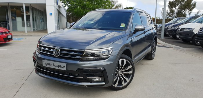 2019 Volkswagen Tiguan 162TSI Highline Allspace 5N MY20 Four Wheel Drive Grey