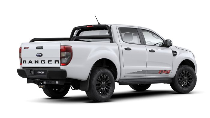 2020 Ford Ranger FX4 PX MkIII MY20.25 4X4 Dual Range Arctic White