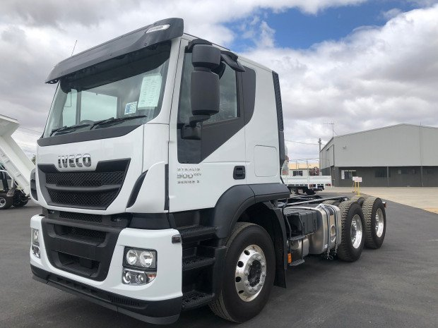 2019 Iveco Stralis AT500 STRALIS 500 EEV SERIES TWO White