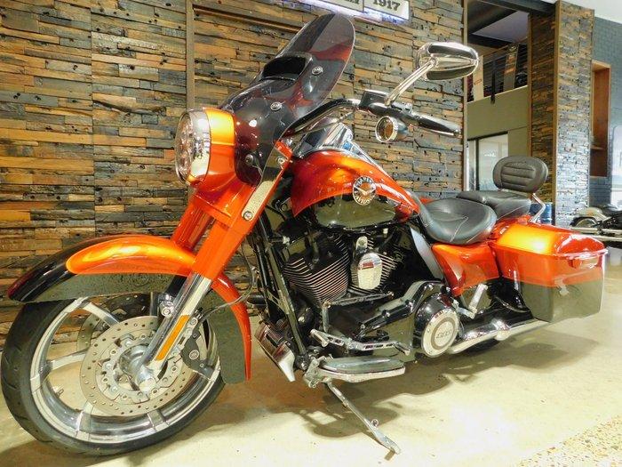0 Harley-Davidson 2014 HARLEY-DAVIDSON 1800CC FLHRSE ROAD KING CVO Tribal Orange & Gal Black