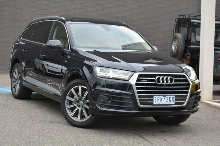 2017 Audi Q7 TDI 4M MY17 Four Wheel Drive Blue