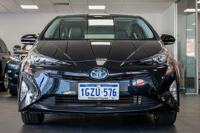 2016 Toyota Prius i-Tech ZVW50R Black