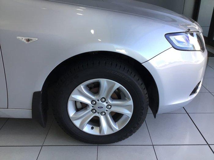 2011 Ford Falcon Ute R6 FG Silver