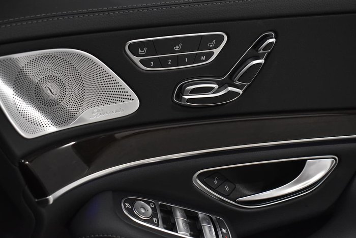 2018 Mercedes-Benz S-Class S350 d W222 Silver