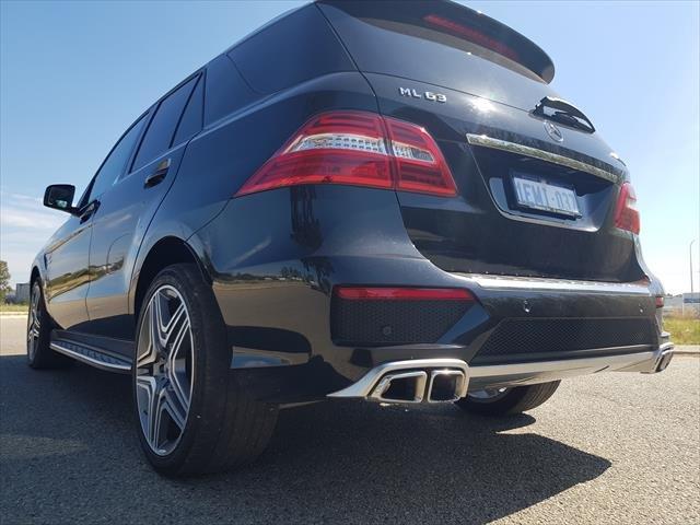 2014 Mercedes-Benz M-Class ML63 AMG W166 4X4 Constant Black