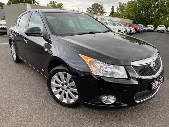2014 Holden Cruze Z Series JH Series II MY14 Black