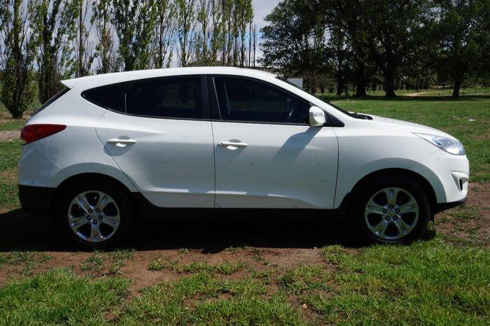 2012 Hyundai ix35 Active LM MY12 White