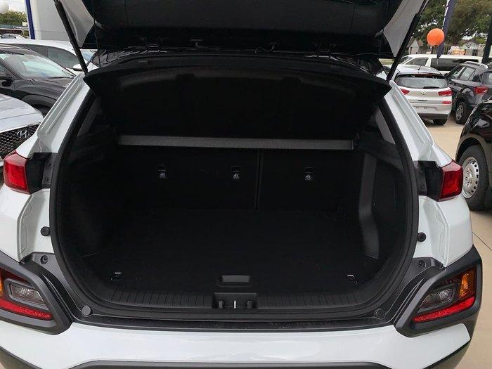 2019 Hyundai Kona Highlander OS.3 MY20 4X4 On Demand White