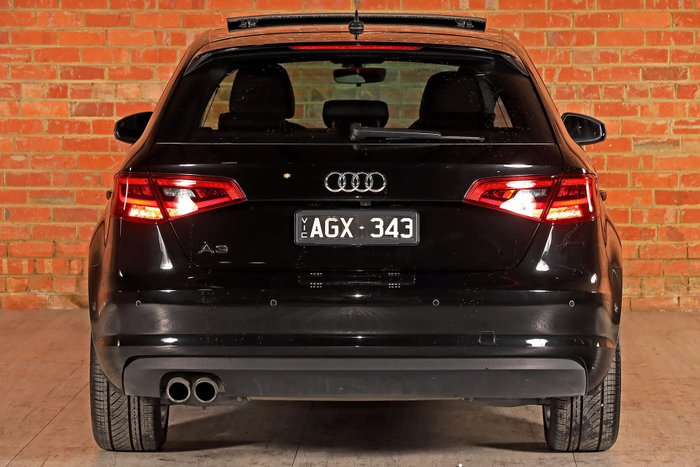 2015 Audi A3 Attraction 8V MY15 Black
