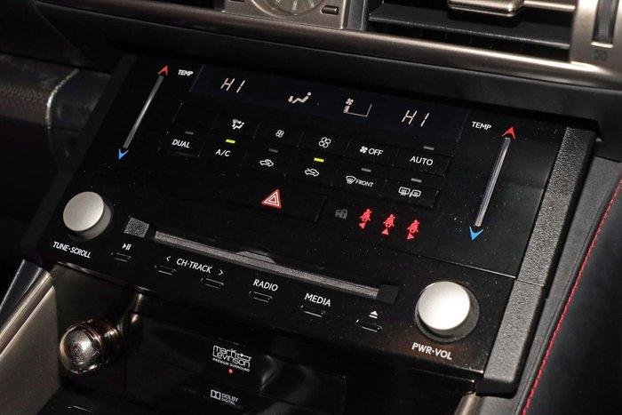 2013 Lexus IS IS350 F Sport GSE31R Silver