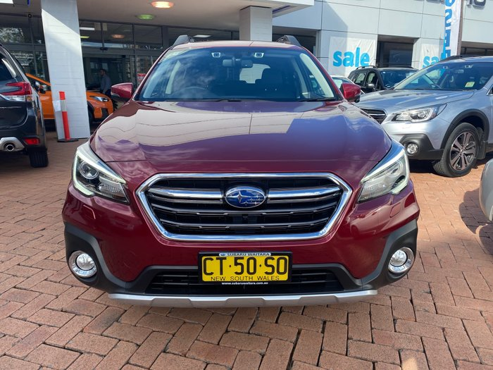 2019 Subaru Outback 2.5i Premium 5GEN MY19 Four Wheel Drive Red