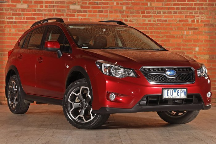 2015 Subaru XV 2.0i G4X MY15 Four Wheel Drive Red
