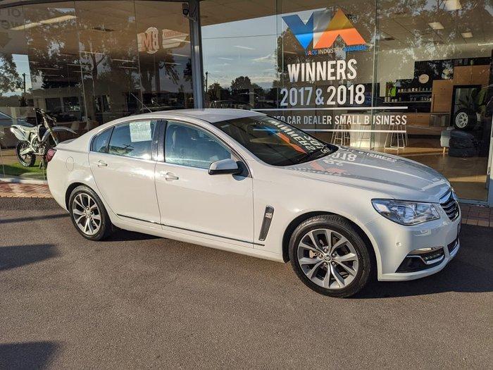 2013 Holden Calais VF MY14 White