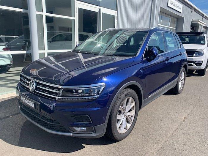 2019 Volkswagen Tiguan 110TSI Comfortline 5N MY19.5 Blue