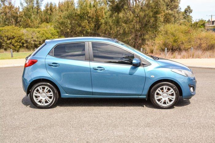 2011 Mazda 2 Neo DE Series 1 MY10 Blue
