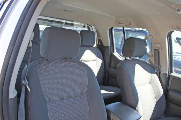 2015 Nissan Navara Silverline SE D40 Series 9 4X4 Dual Range White